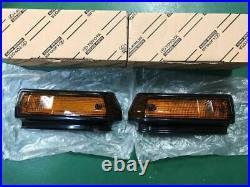 TOYOTA TRUENO AE86 KOUKI Late Model Genuine Front Fender Turn Signal Lens Set
