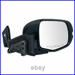 TRQ Mirror Power Heated Turn Signal Paint to Match RH Passenger Side for Pilot