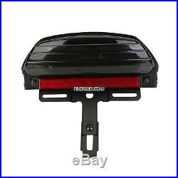 Tri Bar Fender LED Tail Turn signal Light Harley Softail CVO Springer FXST FXSTC