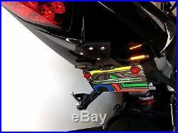 Triumph Daytona 675 Fender Eliminator Kit with Amber LED Turn Signals Smoke Lens