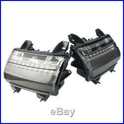 USA Type For Jeep Wrangler JL 18+ LED Fender Daytime Running Turn Signal Lights