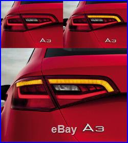 Upgrade Dynamic Turn Signal Adapter LED Tail Lights Module AUDI A3 S3 8V S Line