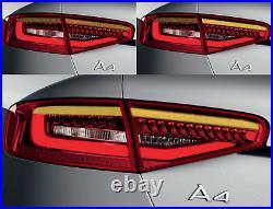 Upgrade Dynamic Turn Signal Adapter LED Tail Lights Module AUDI A4 B8 Sedan S4