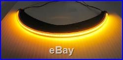 Victory Vegas LED Under the Fender Turn Signal Light Bar Kit Smoked Lens