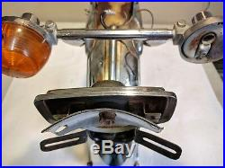 Vintage Honda CL90 Rear Fender with Taillight Bracket & Turn Signal Blinkers045