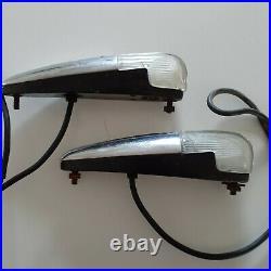 Vintage fender lights 1941 Ford Turn Signal / Parking ORIGINAL PAIR hot rod