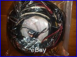 Vw Convertible Bug Beetle Complete Wiring Harness 1968-1969 Fender Turn Signals