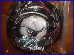 Vw Volkswagen Bug Beetle Complete Wiring Harness 1958-1959 Fender Turn Signals