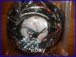 Vw Volkswagen Bug Beetle Complete Wiring Harness 1968-1969 Fender Turn Signals