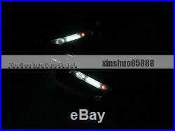 White Fender LED Side Light Turn Signal Light DRL for Ford Kuga Escape 2013-2015