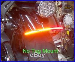 Yamaha Bolt Fender Eliminator LED Turn Signal Light Bar Kit Clear Lens