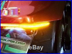 Yamaha Stryker Fender Eliminator LED Brake & Turn Signal Double Light Bar Kit -S