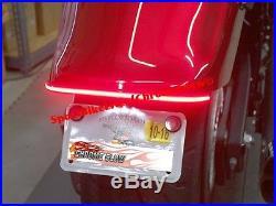 Yamaha Stryker Rear Fender LED Brake & Turn Signal Double Light Bar Kit Smoke