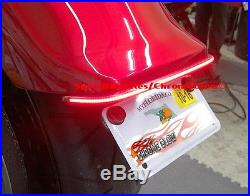 Yamaha Stryker Under the Fender LED Brake & Turn Signal Light Bar Kit Clear