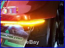 Yamaha Stryker Under the Fender LED Brake & Turn Signal Light Bar Kit Smoke