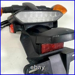 Yamaha WR250R WR250X OEM Rear Fender License Plate Bracket Turn Signals Tail Lig